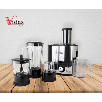 آبمیوه گیری چهار کاره ویداس مدل VIR-3613